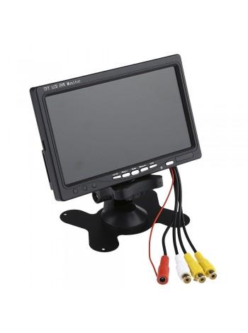 Монитор 7 дюймов для видеонаблюдения