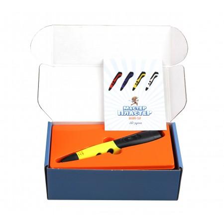 3D ручка Мастер-Пластер ПЛЮС 2.0 желтая