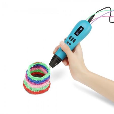 3D ручка Мастер-Пластер Трио синяя