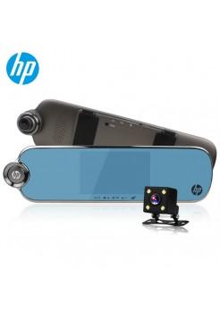 Видеорегистратор Зеркало с двумя камерами hp f770 (Уцененный)