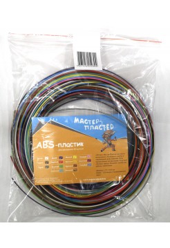 Большой набор разноцветного ABS пластика для 3D ручки